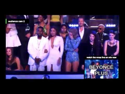 FULL Beyoncé VMA 2014 audience reaction