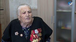 Боровичский ветеран рассказала как прошла Великую Отечественную войну