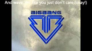 Big Bang- Big Boy Lyrics English + Romanization