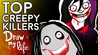TOP la familia THE KILLERS: Jeff , Nina o Diego The Killer  - Draw My Life