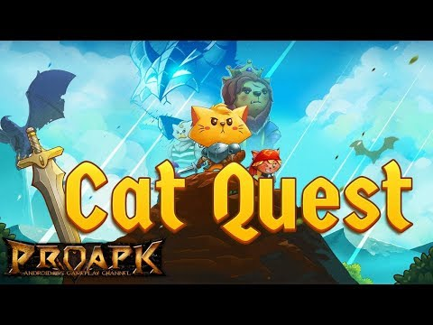 CAT QUEST Gameplay Android/ iOS / PC (Open World Offline RPG)