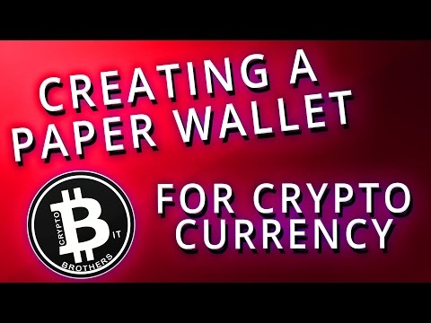 How to Create A Paper Wallet, Info On All Types of Wallets