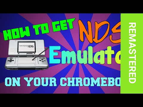 [HOW-TO][Remastered] Get a NDS Emulator on your Chromebook! (Working 2017)