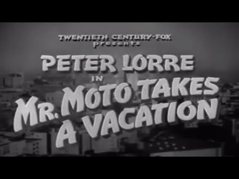 Mr  Moto In Mr Moto Takes A Vacation  1939  Peter Lorre