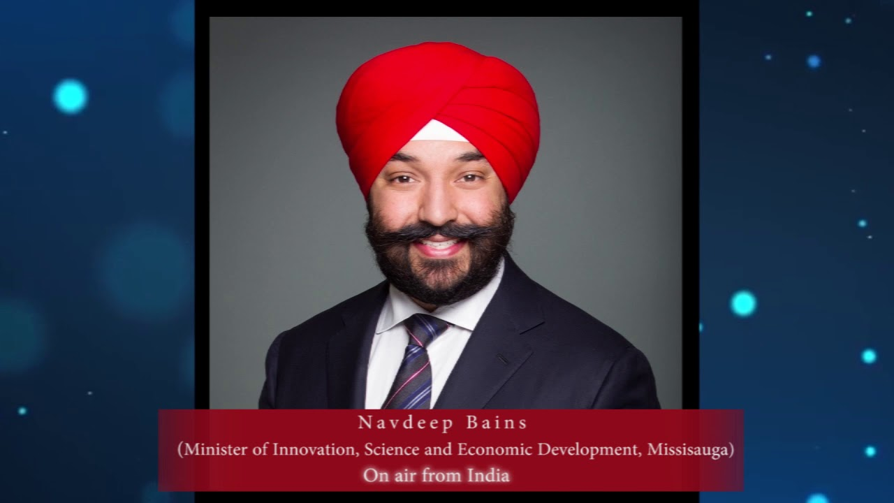 Navdeep bains - On Air from his India Tour - YouTube