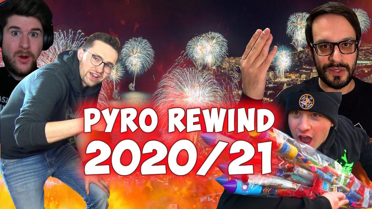 Pyro YouTube Rewind 2020/21 in EINER Minute II Silvester Feuerwerk
