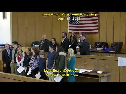 Long Beach NY City Council Meeting 04/17/18