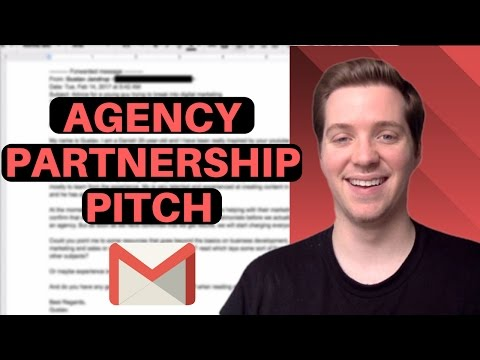 How to Pitch Agency Partnerships? [Video Production] (w/ Script) - 📧Cold Email Teardown📧