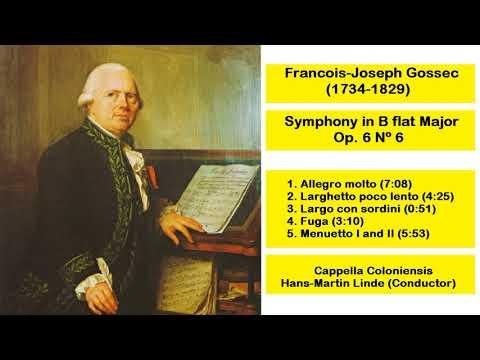 Francois-Joseph Gossec (1734-1829) - Symphony in B flat Major Op. 6 Nº 6