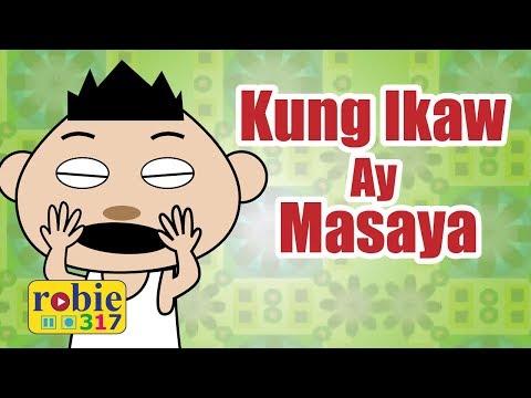 Kung Ikaw Ay Masaya Animated | Awiting Pambata | Tagalog Nursery Rhymes