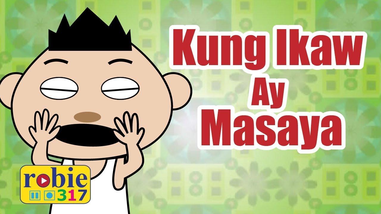 Kung Ikaw Ay Masaya Animated Awiting Pambata Tagalog Nursery