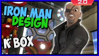 Disney Infinity 2 Toy Box Adventures! Iron Man's Room