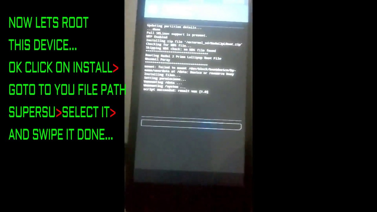 HOW TO INSTALL | TWRP | SUPERSU | XPOSED | REDMI 2 PRIME| HINDI | PART 4