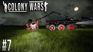 Space Engineers - Colony WARS! - Ep #7 - Recovery Vehicles deploy!