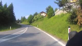 Rit Kreuzen, Windische höhe naar Hermagor en Weissensee