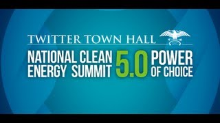 Twitter Town Hall on Clean Energy