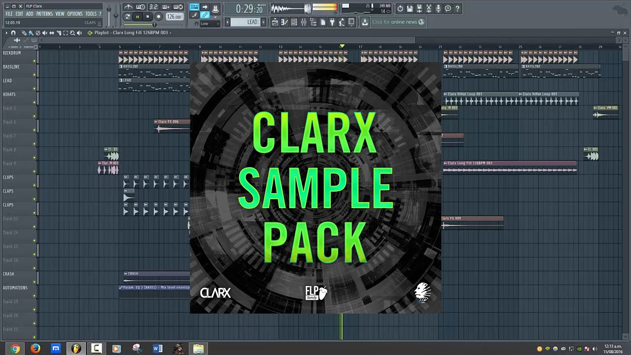 Clarx Sample Pack Vol  1 [FREE]