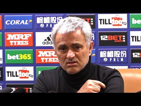 West Brom 1-2 Manchester United - Jose Mourinho Post Match Press Conference - Premier League #WBAMUN