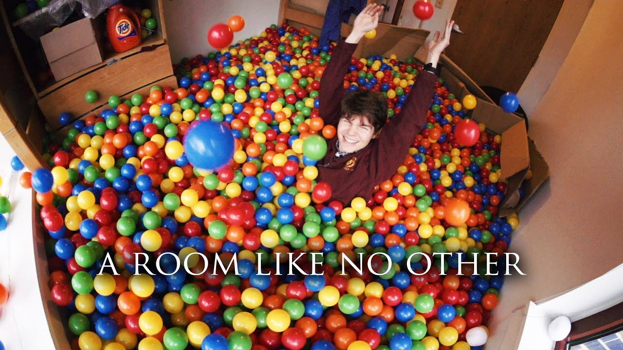 Rice University Student Turns His Room Into A Ball Pit   YouTube Part 7