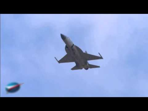 JF 17 Thunder in Paris Air Show 2015