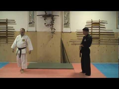 Вопрос: Как выполнить каратэ удар в Сетокане?