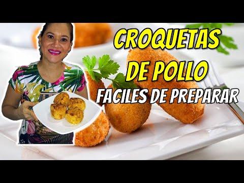 Croquetas De Pollo En Freidora De Aire Airfryer Youtube