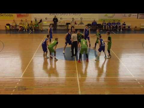 VEF LJBL U16 (2001) Talsi -  BJBS Rīga/Rīdzene 2