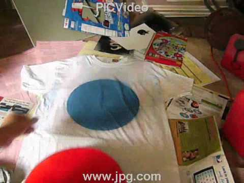 how to spray paint a shirt youtube. Black Bedroom Furniture Sets. Home Design Ideas