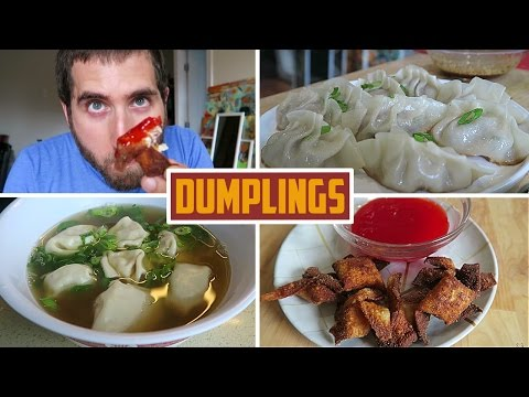 Beginners Guide To Dumplings - Fried, Wonton Soup, Crab Rangoon