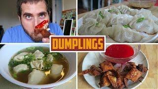Beginners Guide To Dumplings - Fried, Wonton Soup, Crab Rangoon
