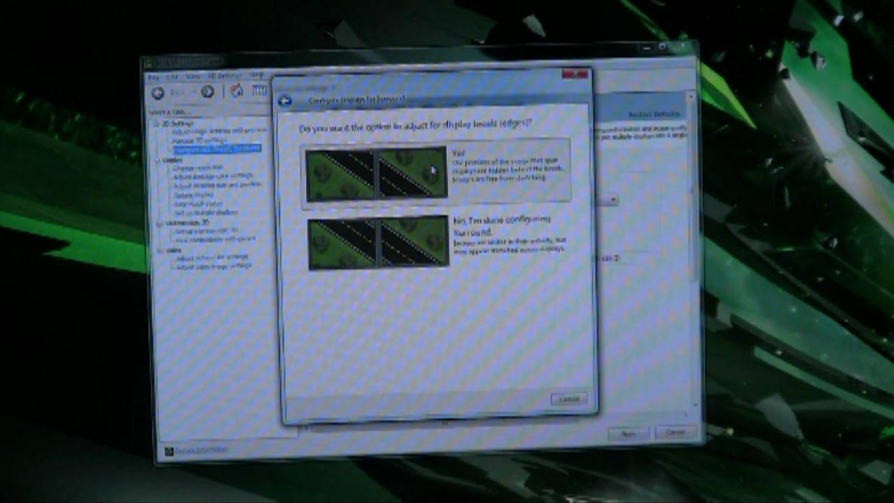 NVIDIA Surround Driver Installation