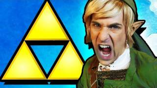 One of Smosh's most viewed videos: THE LEGEND OF ZELDA RAP [MUSIC VIDEO]