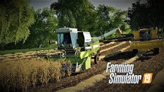 FarmingSimulator2019 Podwórkowe opowieści odc2 Zaczynamy żniwa z pompą
