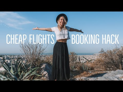 How To Find The CHEAPEST Flights: Skyscanner Budget Travel Booking HACK