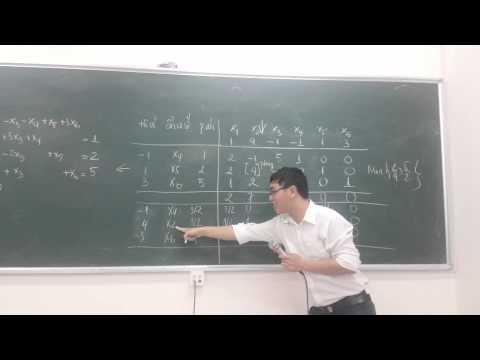 Giải bài toán đơn hình