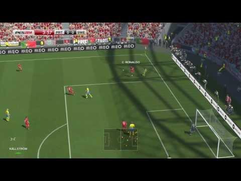 (Pes 2014 Gameplay Xbox 360)Portugal Vs Suecia - C. Ronaldo Vs Ibrahimovic - Penales