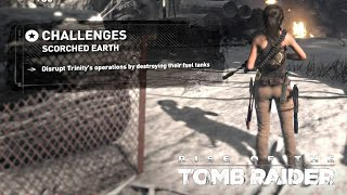 Rise of the Tomb Raider · Scorched Earth Challenge Walkthrough Video Guide