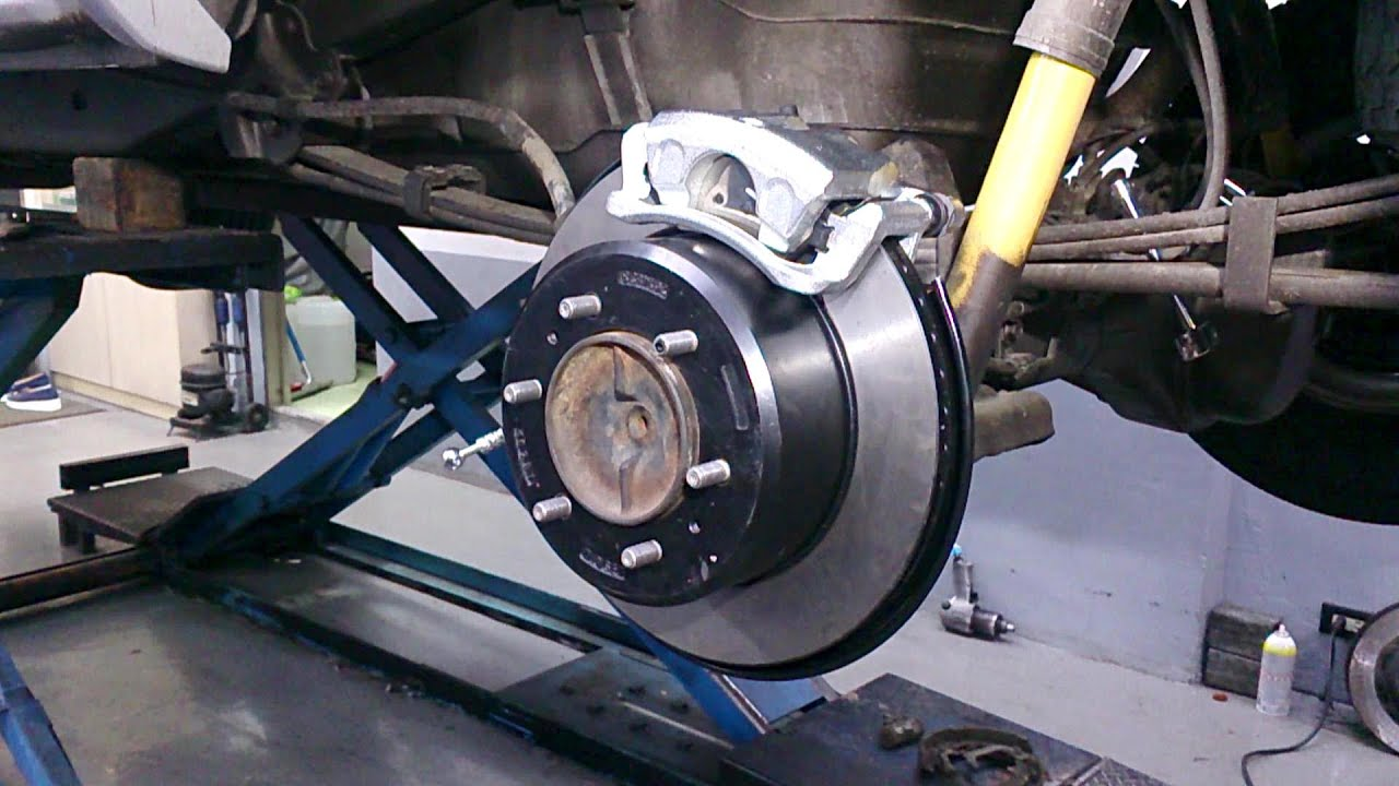 Installation Replacement Instructions For Vented Disc Brakes
