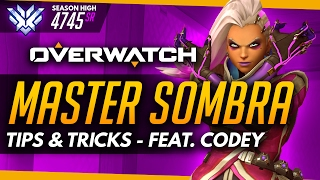 Overwatch | Master Sombra ft CodeyNiku (World #1 Sombra) - Tips and Advice (Guide)