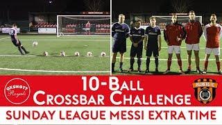 PALMERS FC vs OXSHOTT ROYALS! | 10-Ball Crossbar Challenge ⚽