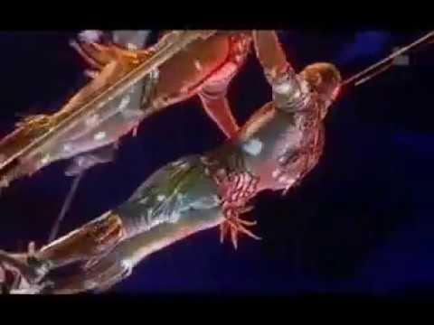 Cirque du Soleil   Aerial High Bar Act   9'