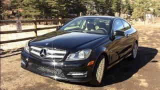Mercedes-Benz C-Class Coupe 2012 Videos
