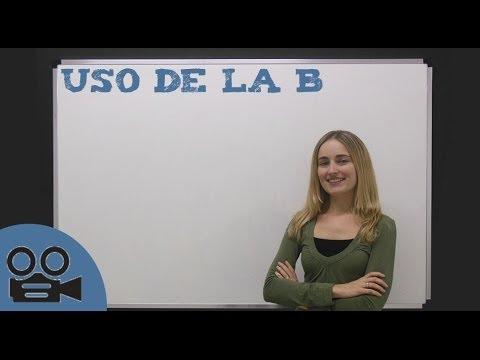 El uso de la b