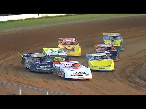 RUSH Crate Late Model Heat One | McKean County Raceway | 8-18-16