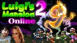 Let's Play Luigis Mansion 2 - Lokaler Multiplayer mit Juli thumbnail