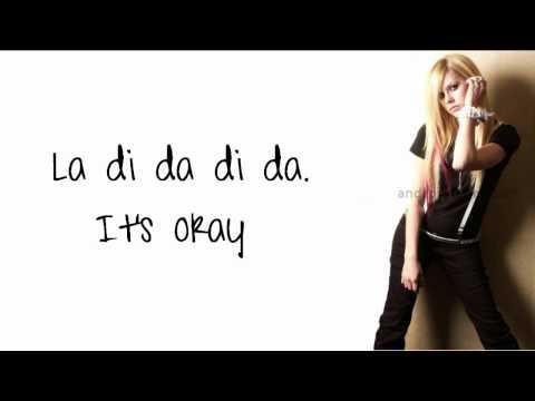 Avril Lavigne - Everybody Hurts (Lyrics) New Song 2011