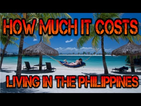 How much does it cost to live in the Philippines? Monthly Expenses 2017 ✅