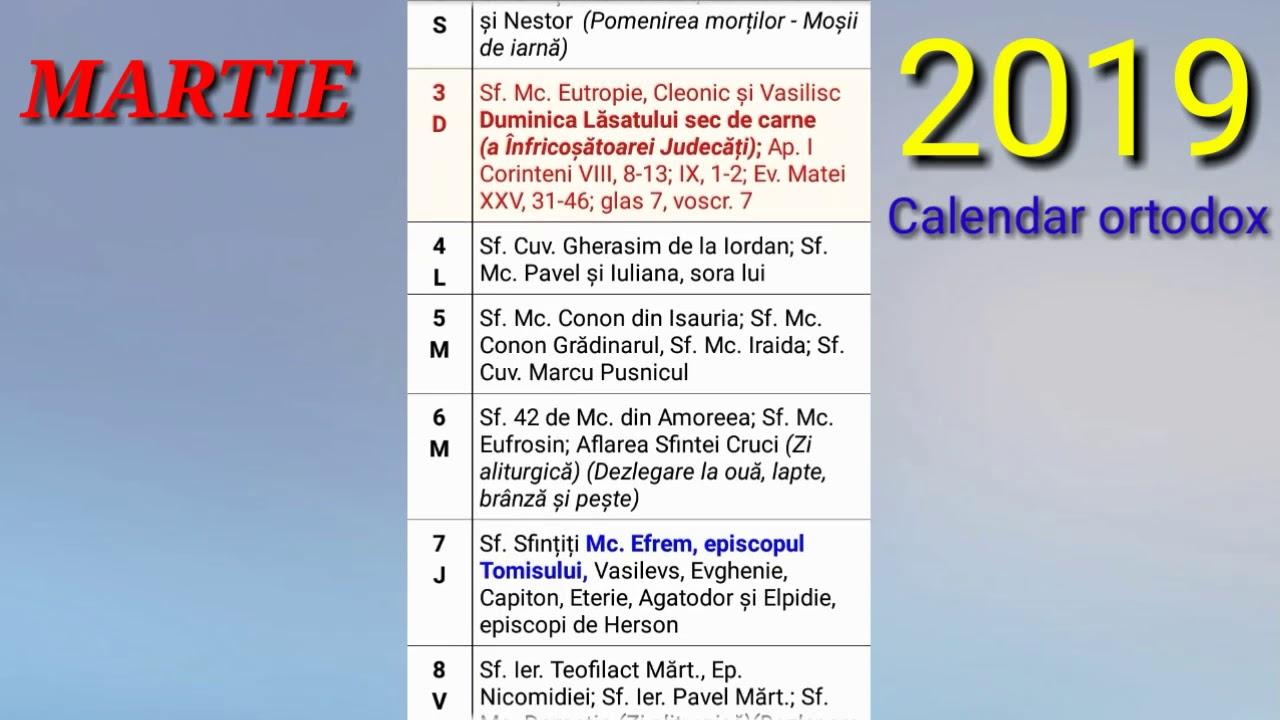 Calendar ortodox 2015 Septembrie - CALENDAR ONLINE 2019  |Calendar Ortodox August 2020
