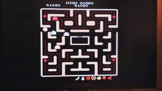 Ms. Pacman [Namco Museum 50th Anny Ed] - PS2 - 82,040 (WR!)