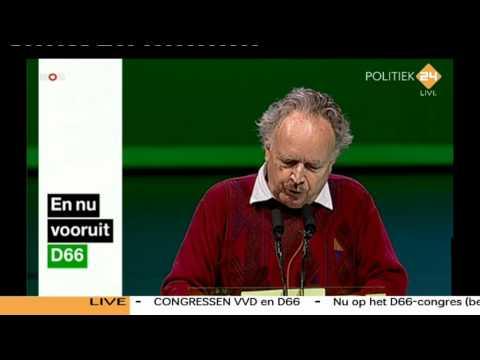 Paul Haenen is Dominee Gremdaat op congres D66